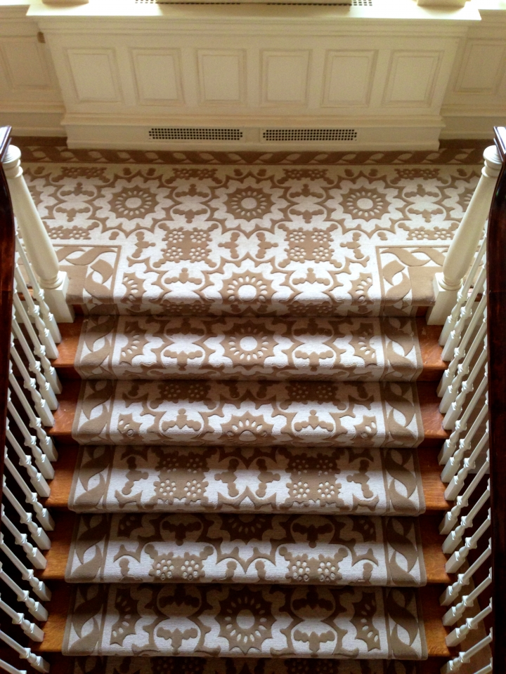 Custom Multilevel Hand Tufted by Silk Road Carpet and Rugs2
