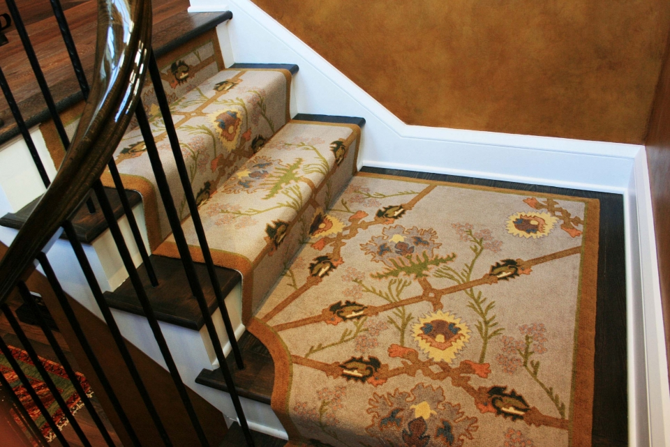 Custom Needlepoint by Silk Road Carpet and Rugs